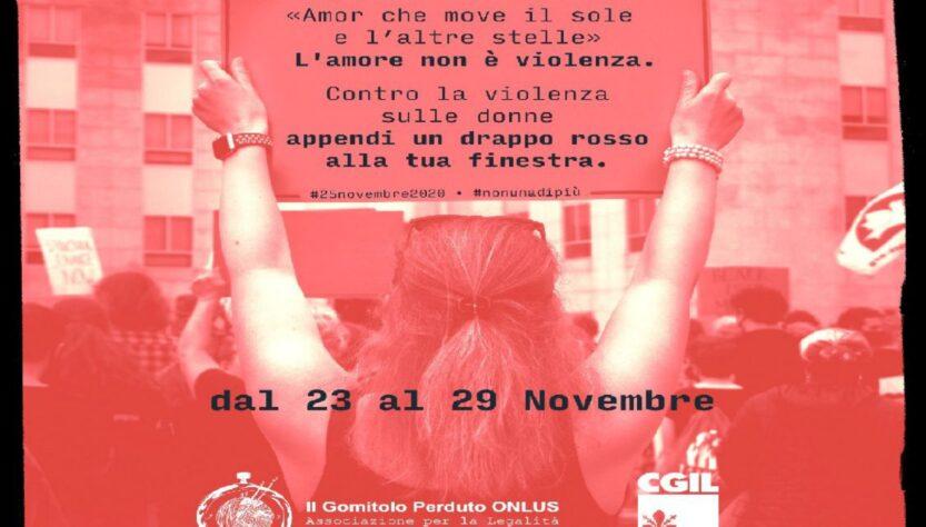 25 nov. Giornata internazione contro la violenza sulle donne