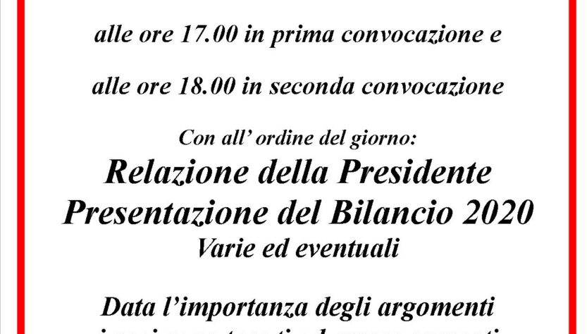 Circolo ARCI Isolotto :: Bilancio 2020