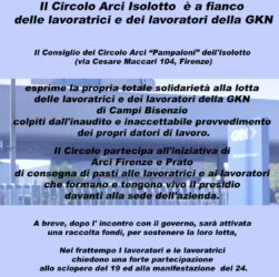 Circolo ARCI Isolotto :: solidarietà con lavoratori e lavoratrici della GKN