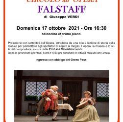 Circolo ARCI Isolotto :: Circolo al'Opera: Falstaff